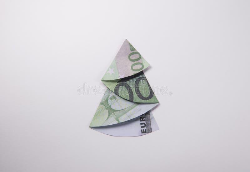 geld origami weihnachtsbaum stockfoto bild von insekt. Black Bedroom Furniture Sets. Home Design Ideas