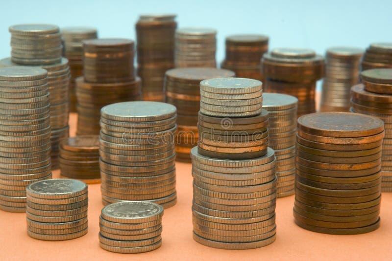 Geld scape royalty-vrije stock foto's