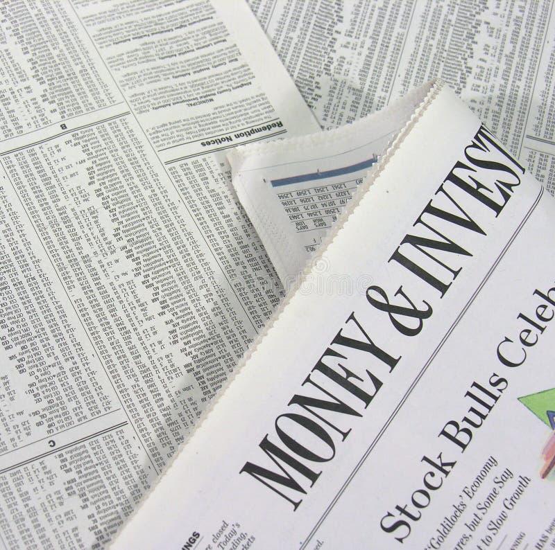Geld u. Investierung lizenzfreies stockbild