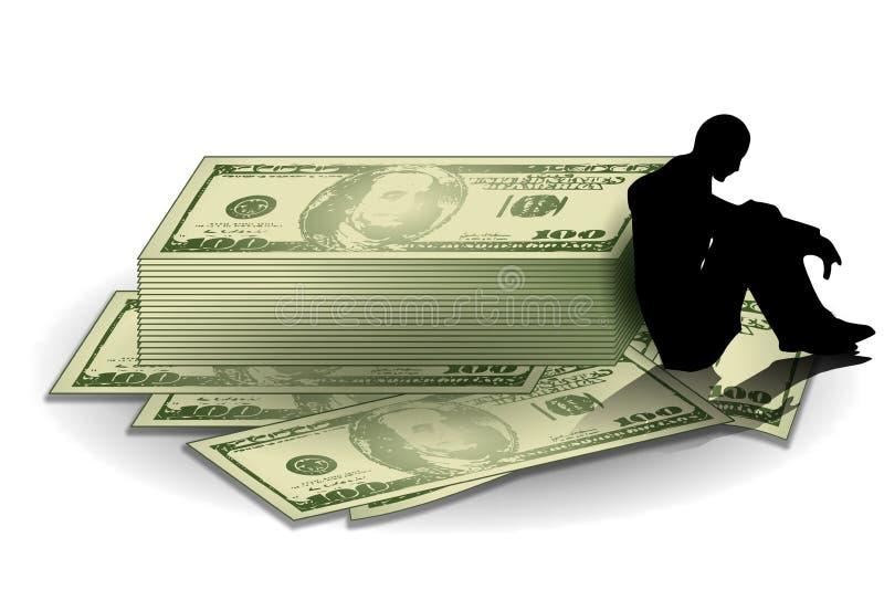 Geld Und Finanzmühen Lizenzfreies Stockbild