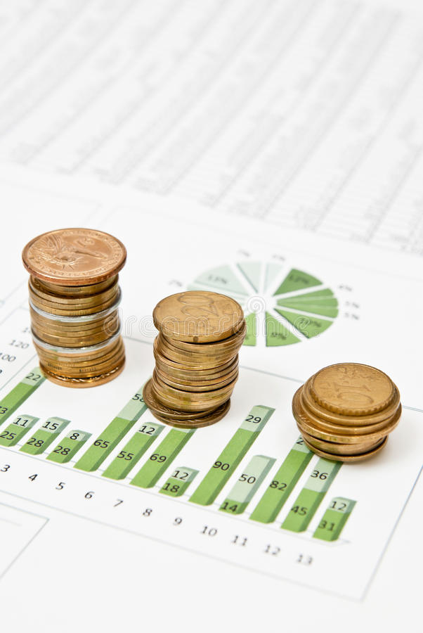 Geld und Geschäft stockfotografie