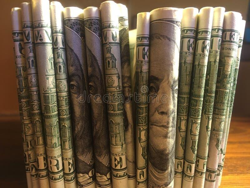 Geld - USD lizenzfreies stockfoto