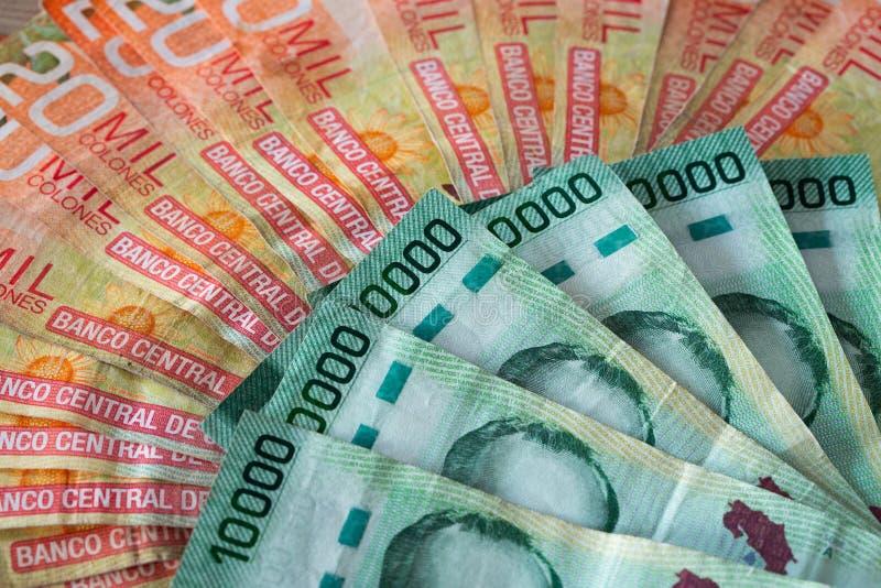 Geld van Costa Rica/Colones/hoge benamingen