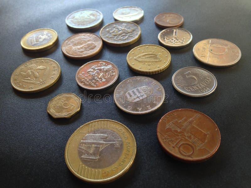 Geld 1 van de wereld stock afbeeldingen