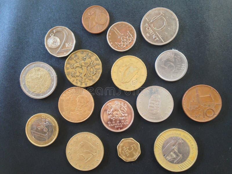 Geld 2 van de wereld royalty-vrije stock fotografie