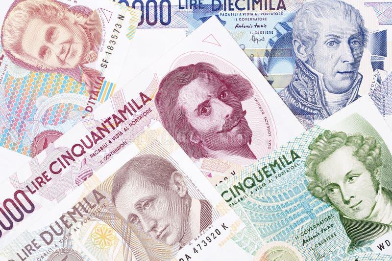 Geld van Italië, een achtergrond