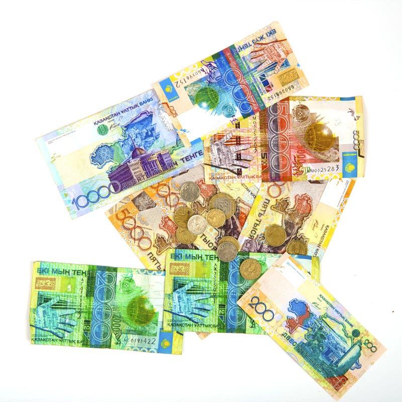 Geld van Kazachstan stock afbeelding