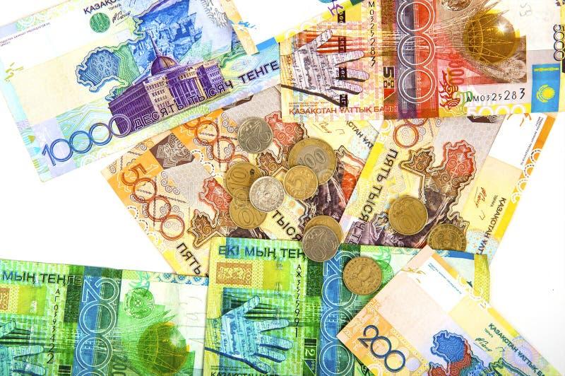 Geld van Kazachstan stock foto's