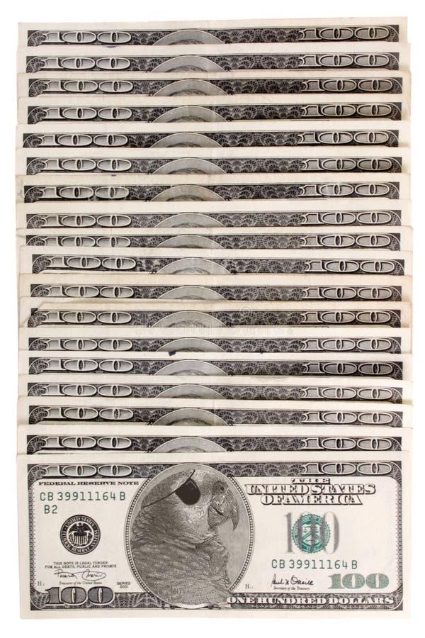 Geld van piraterij stock afbeelding