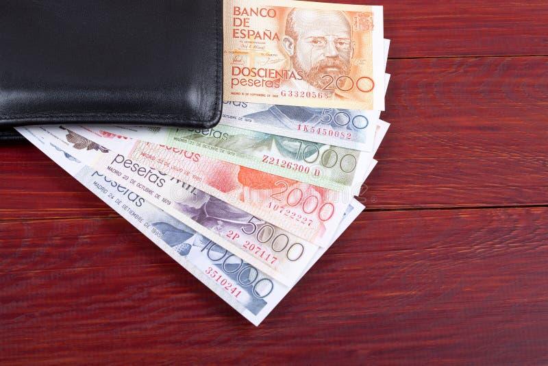 Geld van Spanje in de zwarte portefeuille