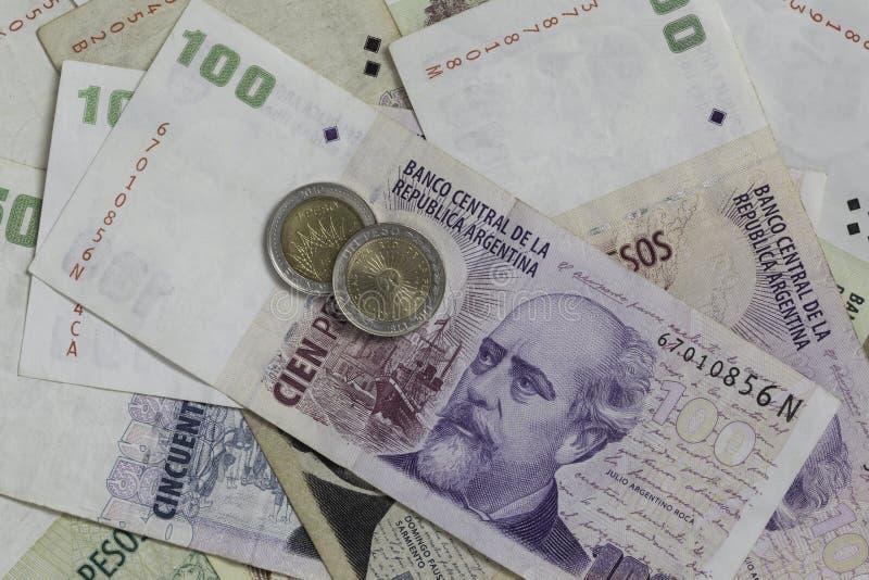 Geld von Argentinien lizenzfreies stockfoto