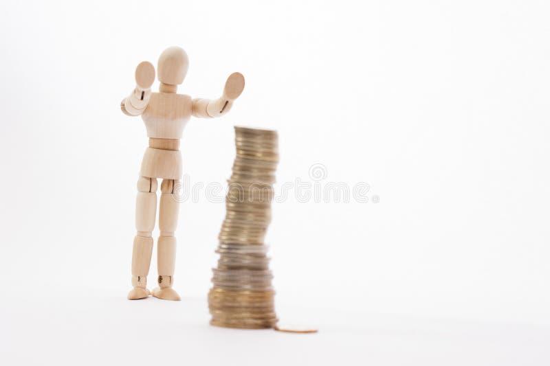 Geldabwehr lizenzfreie stockfotos