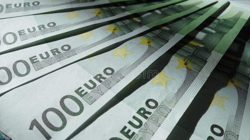 Geldachtergrond royalty-vrije stock afbeelding