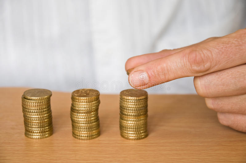 Geldanlage lizenzfreie stockfotos