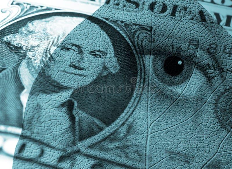 Geldauszug stock abbildung