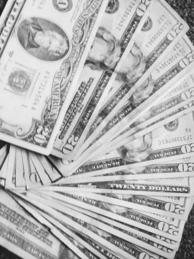 geldbaby stock afbeelding