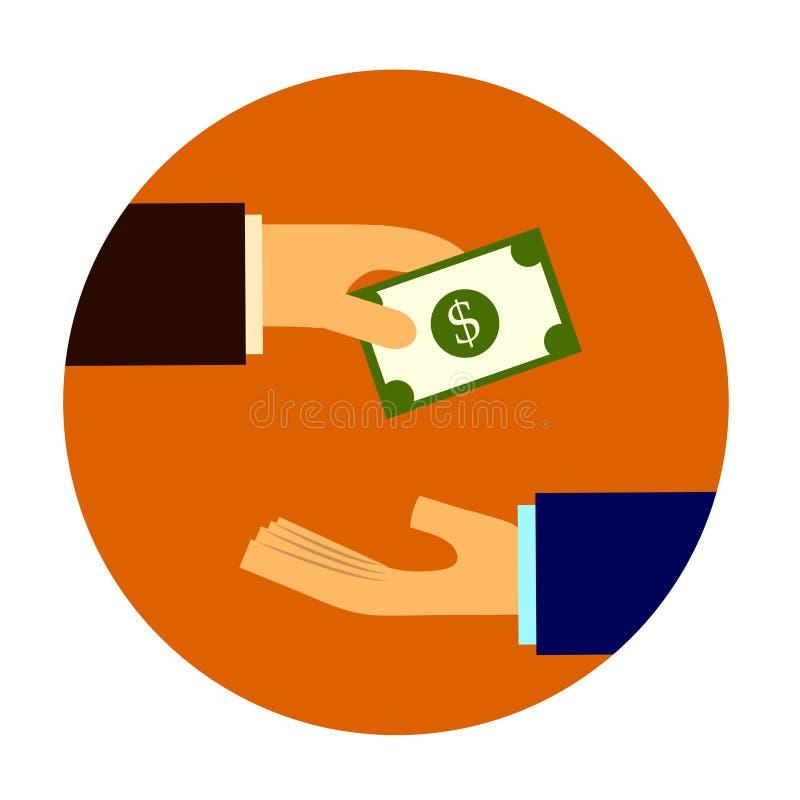 Geldbanknotenabkommen lizenzfreies stockfoto