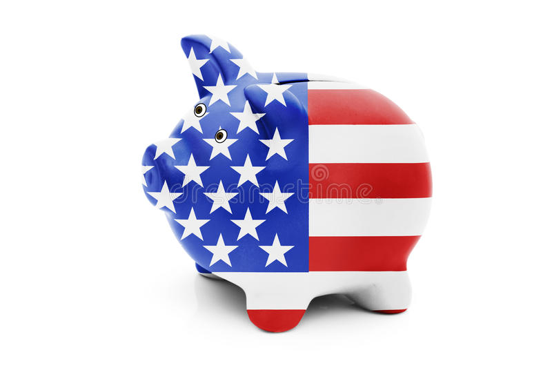 Geldbeheer voor Amerikanen stock foto