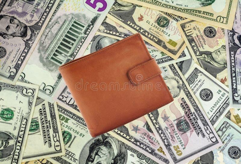 Geldbeurs stock afbeelding