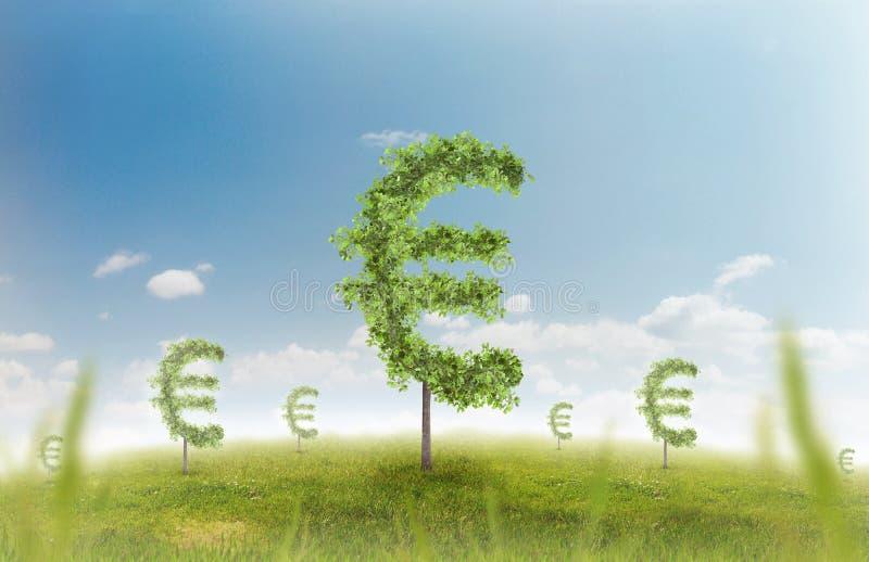 Geldbomen vector illustratie