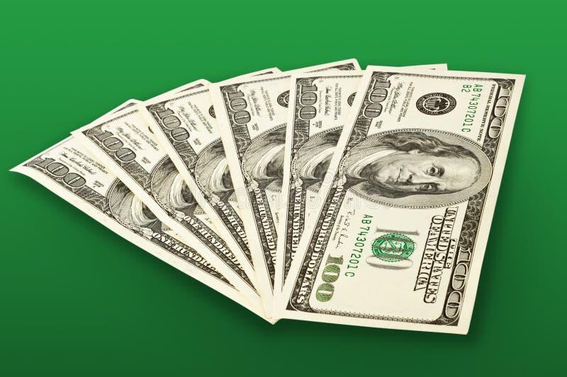 Gelddollar lizenzfreie stockbilder