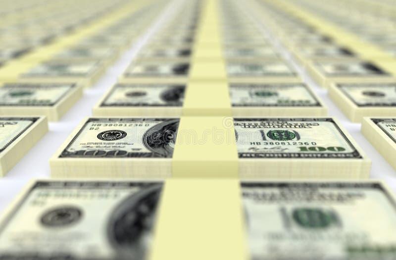 Gelddollar USA Die goldene Taste oder Erreichen für den Himmel zum Eigenheimbesitze stockfotografie