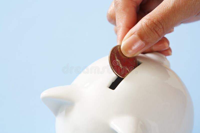 Geldeinsparung stockbilder