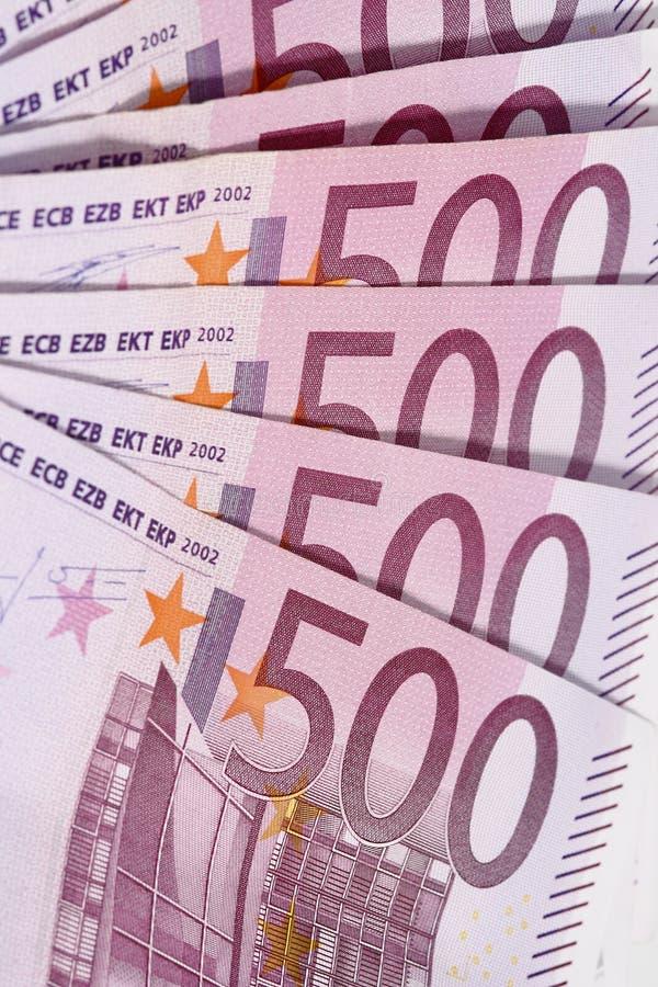 Geldeuro lizenzfreie stockfotos