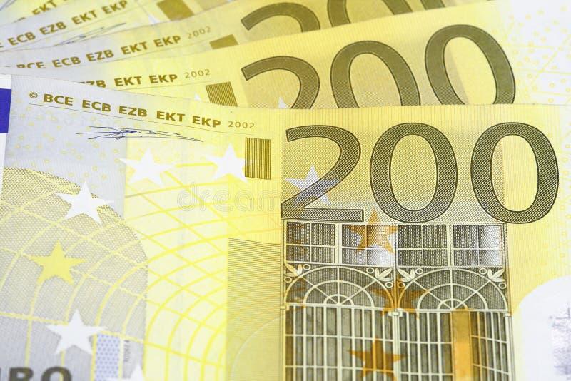 Geldeuro lizenzfreie stockbilder