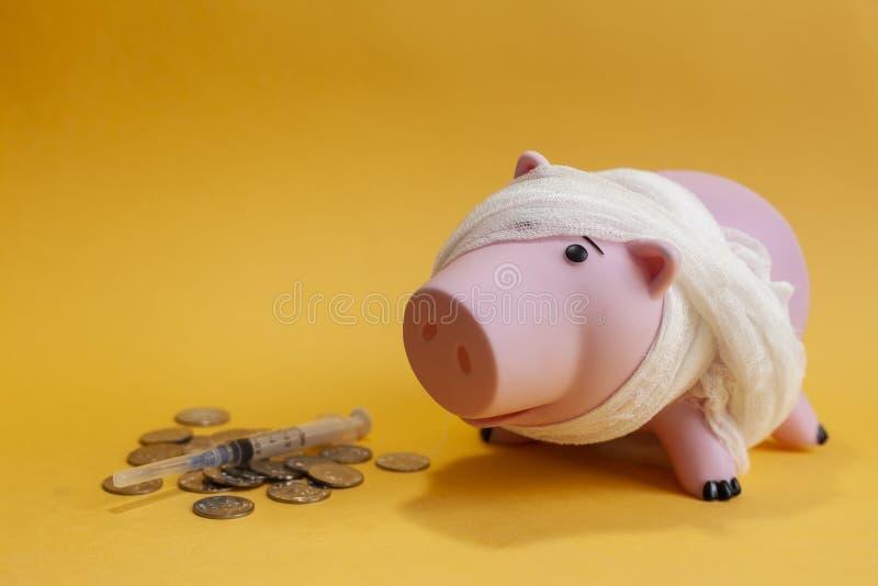 Geldfehlerkonzept stockbilder