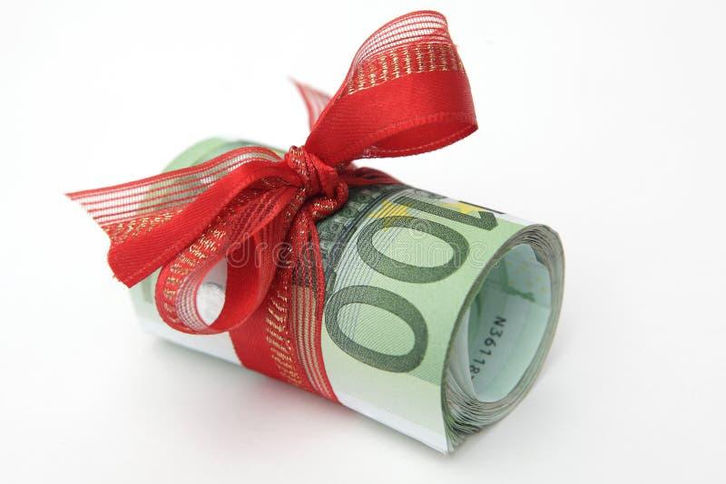 Geldgeschenk lizenzfreies stockbild