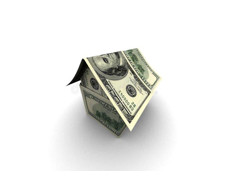 Geldhaus lizenzfreie abbildung