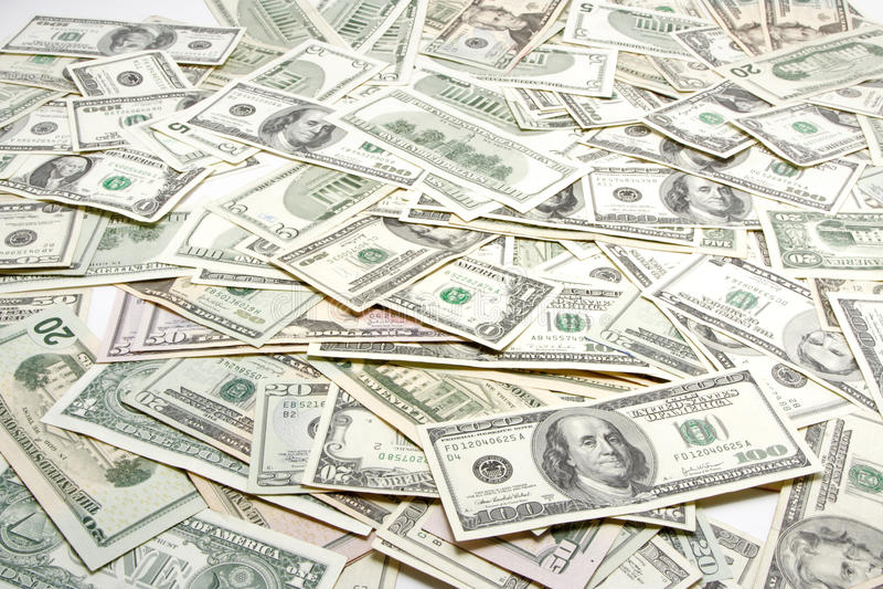 Geldhintergrund lizenzfreie stockfotos