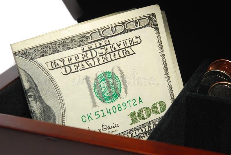 Geldkasten lizenzfreie stockfotografie