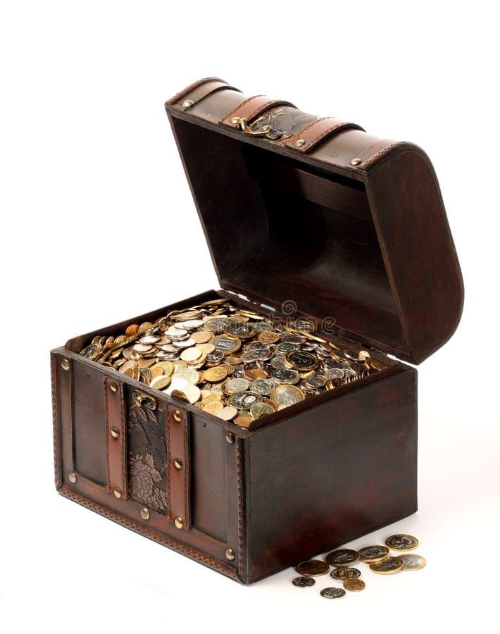 Geldkasten stockfoto