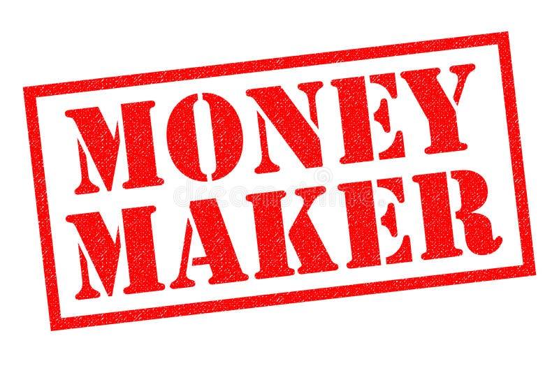 Geldmaker royalty-vrije illustratie