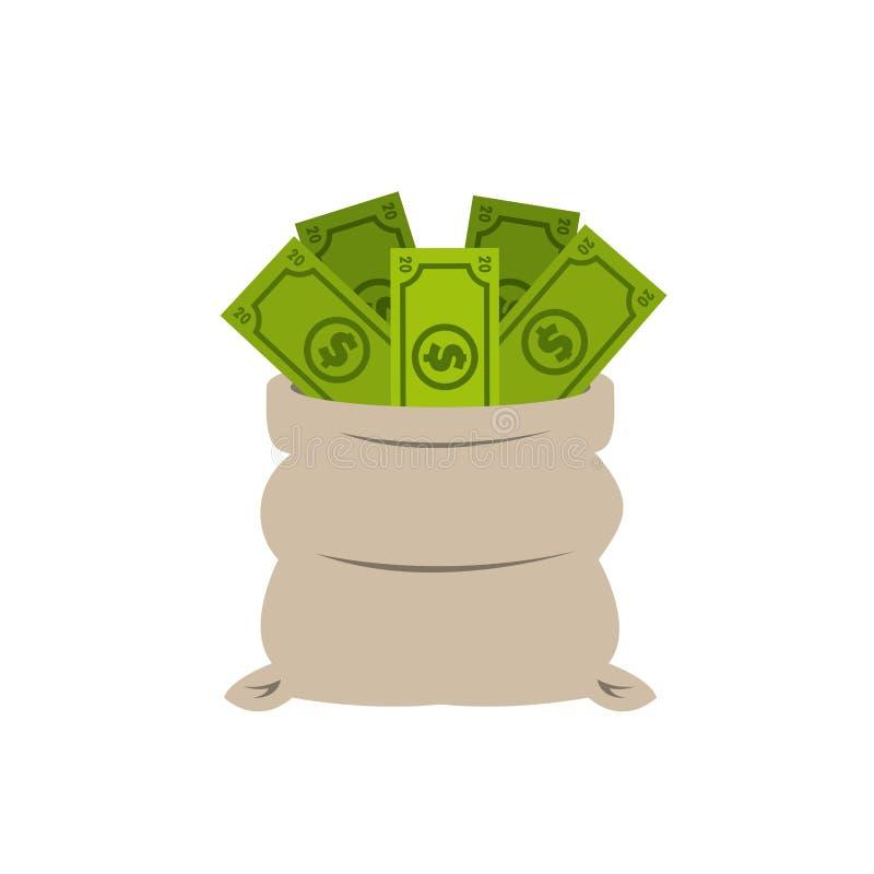 Geldontwerp royalty-vrije illustratie
