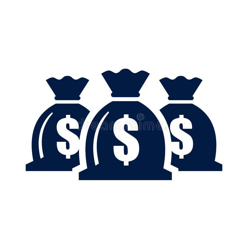Geldpictogram royalty-vrije illustratie