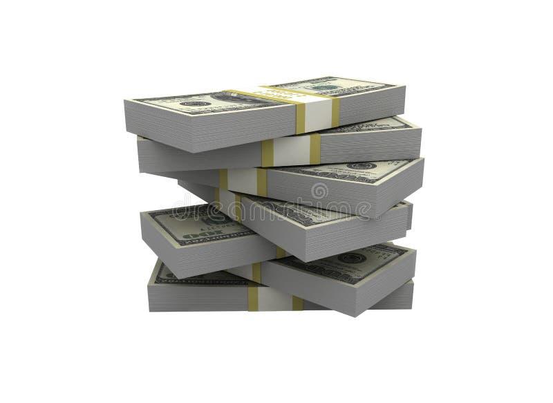 Geldstapel lizenzfreie abbildung