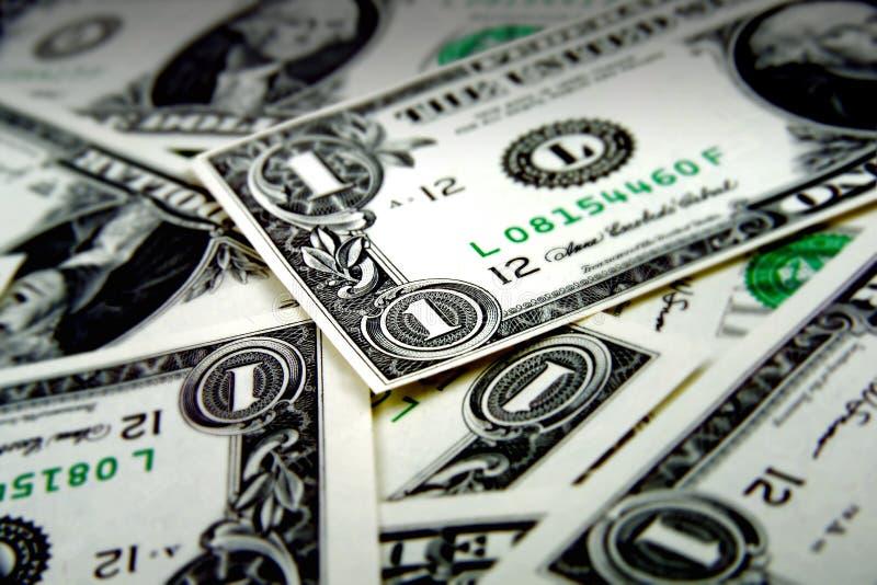 Geldstapel royalty-vrije stock afbeelding