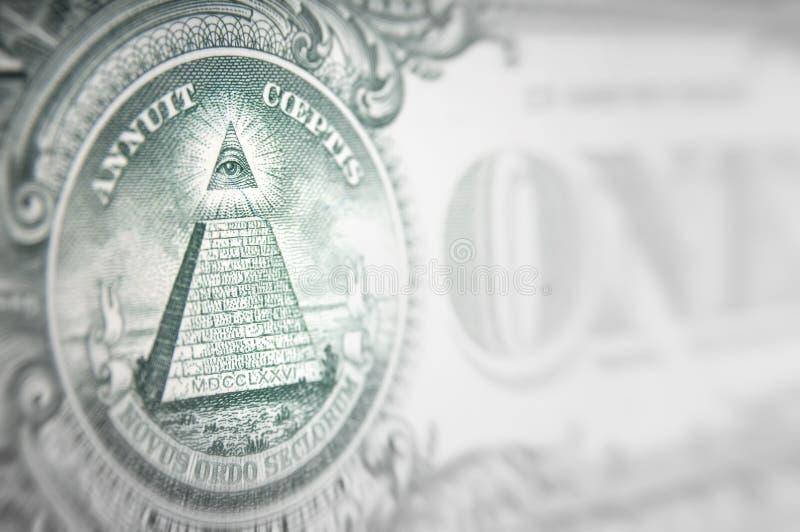 Geldverschwörungskonzept lizenzfreie stockfotos