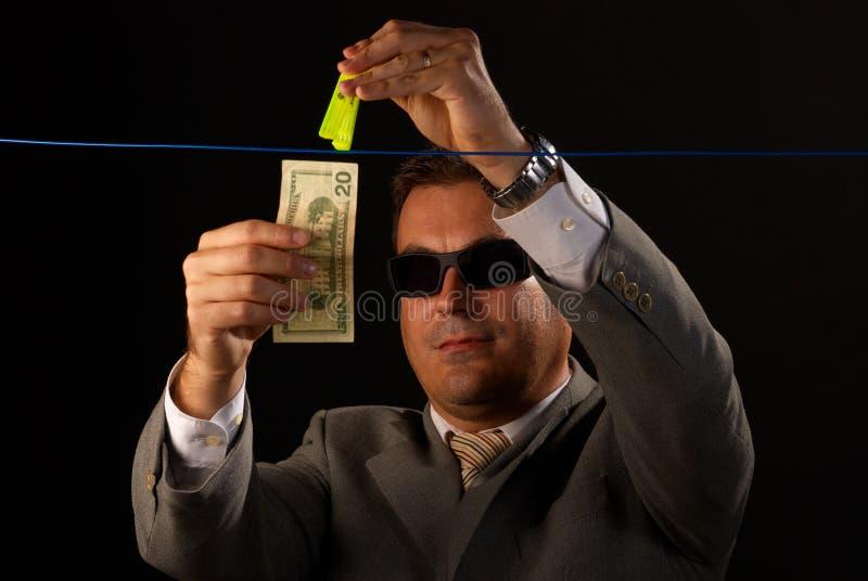 Geldwäsche lizenzfreie stockfotos
