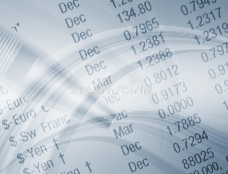 Geldwechselkinetik stock abbildung