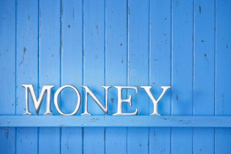 Geldword Achtergrond royalty-vrije stock afbeelding