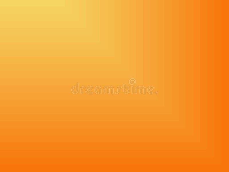 Gele Abstracte VectorAchtergrond royalty-vrije illustratie