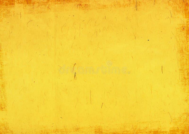 Gele achtergrond stock illustratie