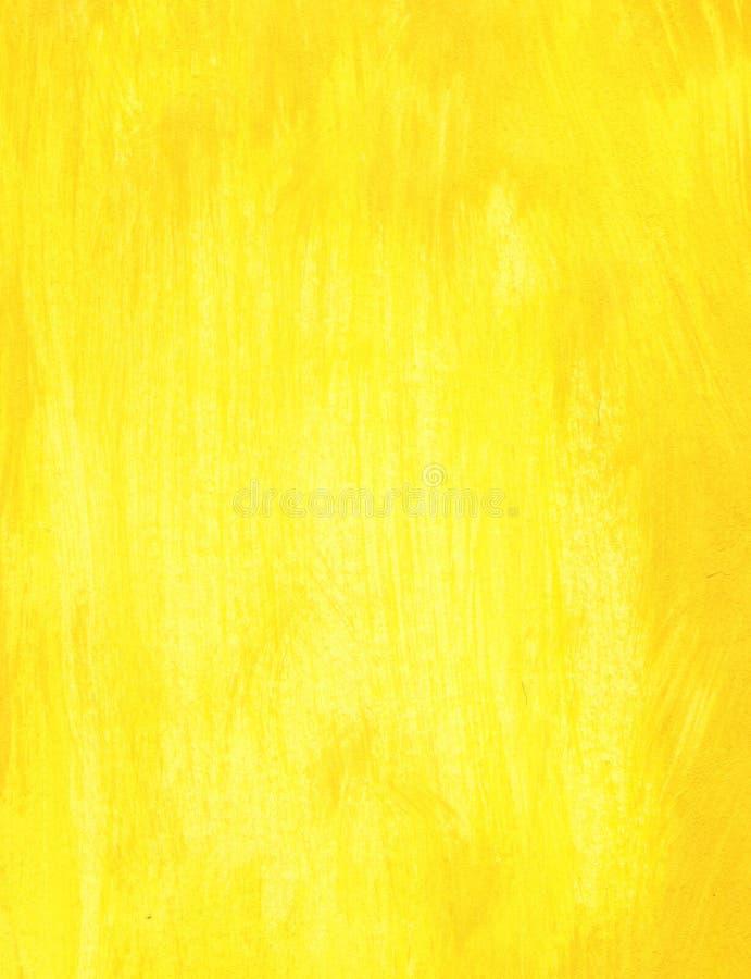 Gele achtergrond, stock afbeelding