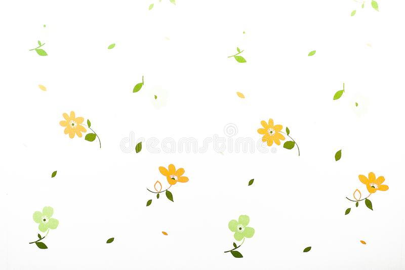 Gele bloem I liefde die foto stock foto's