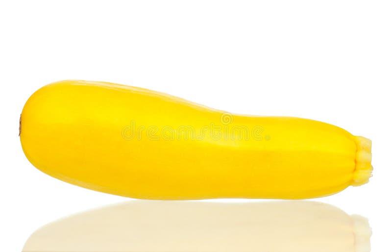 Gele courgettepompoen royalty-vrije stock foto