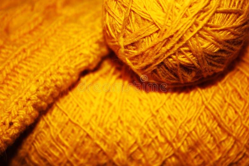 Gele draad stock afbeelding
